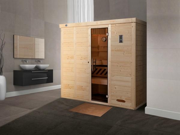 Design-Sauna KEMI 5 GT, ohne Ofen