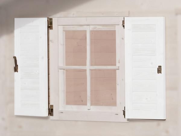 Fensterläden 69 x 79 cm weiß