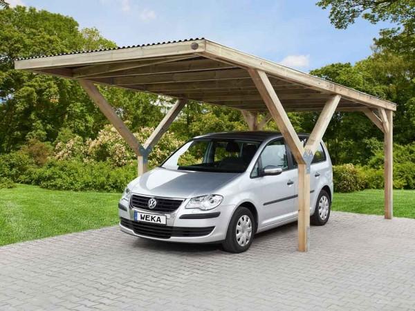 Y-FLACHDACH CARPORT, PVC Dach