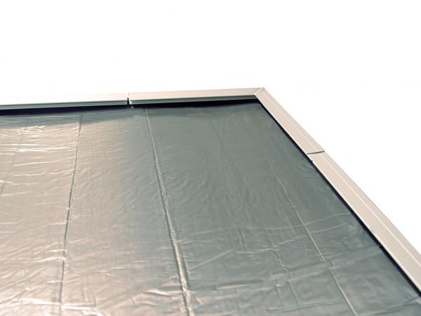 Selbstklebende Dachbahn SET anthrazit für Saunahaus Serie Salo