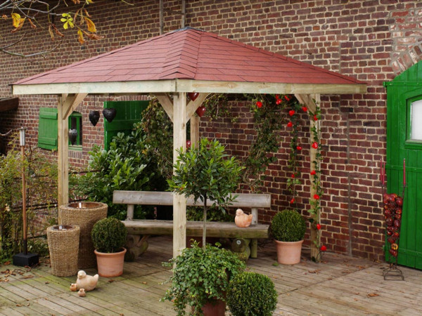 Gartenlaube Sparset Gartenoase 651 Gr. 1 KDI