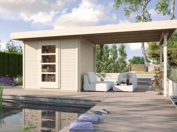 Gartenhaus Designhaus wekaLine 172 B Gr. 2 28 mm naturbelassen