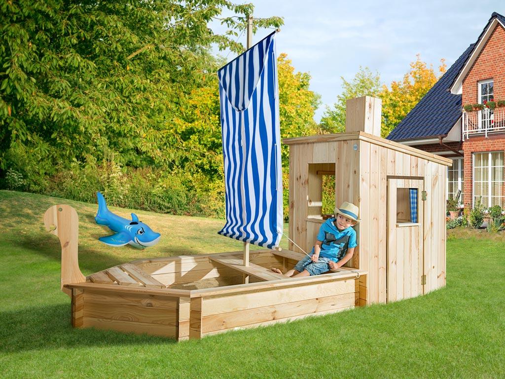 spielhaus sandkastenschiff 196 a 18 mm naturbelassen. Black Bedroom Furniture Sets. Home Design Ideas