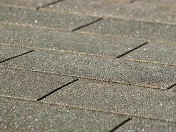 Bitumen Dachschindeln rechteckig anthrazit 3 m²