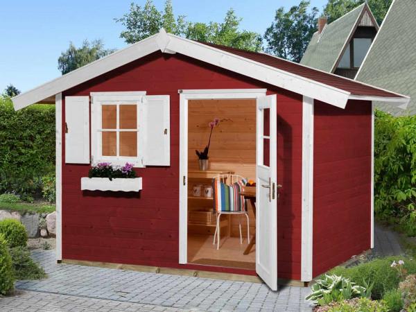Gartenhaus 123 Gr. 3 schwedenrot