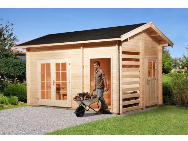 Gartenhaus 150 28 mm naturbelassen