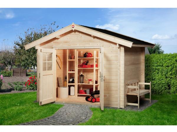 Gartenhaus Premium45 Gr. 3 45 mm naturbelassen