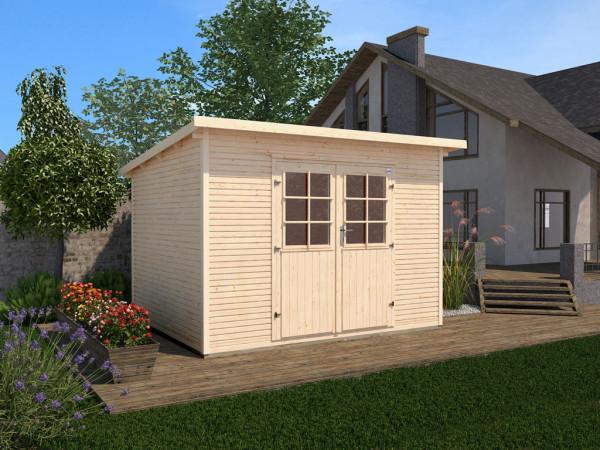 Gartenhaus 219 Gr. 2 28 mm naturbelassen