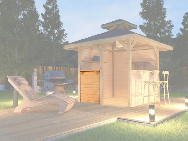 Bausatz Treseneingang für Gartenoase 651 Gr. 3