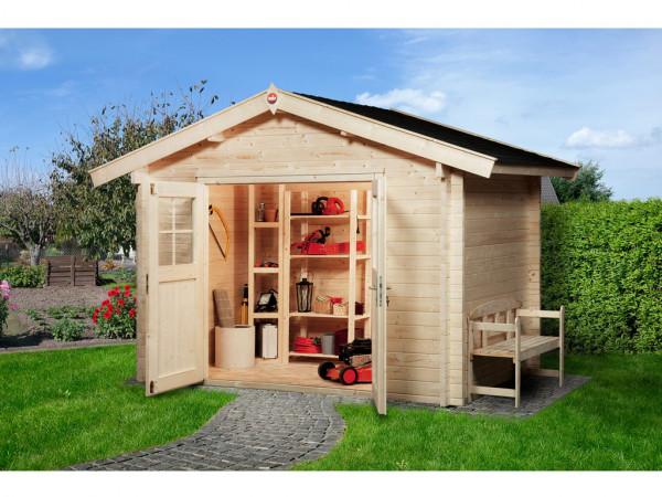 Gartenhaus Premium45 Gr. 2 45 mm naturbelassen