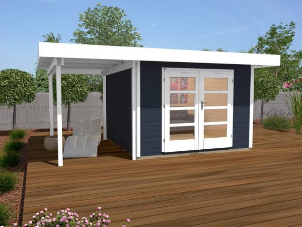 Gartenhaus Designhaus 126 Plus A Gr. 2 anthrazit
