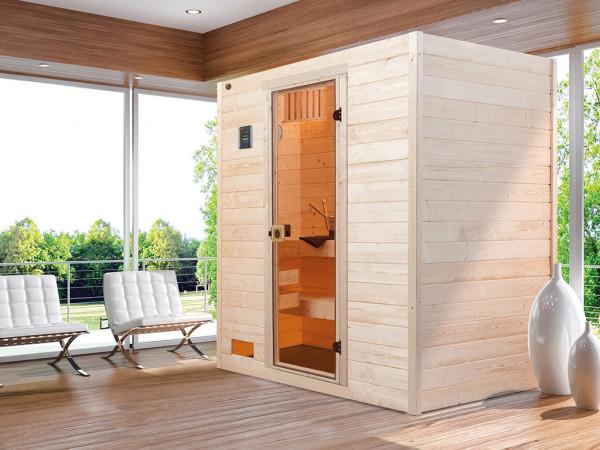 WE-Sauna SPARSET Valida 2 GT + 7,5kW Ofen