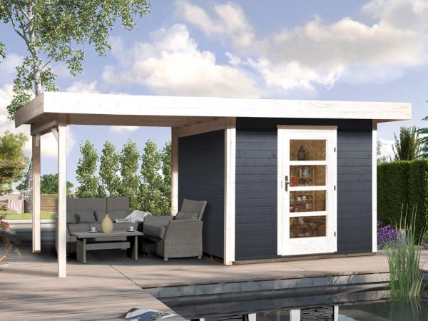 Gartenhaus Designhaus 172 B Gr. 1 28 mm anthrazit