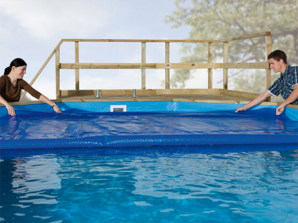 Wärmeplane für Pool 594