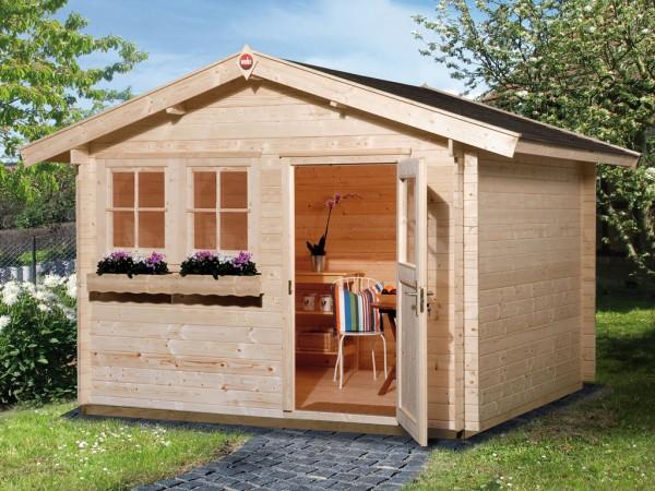 Gartenhaus 139 Gr. 3 45 mm naturbelassen