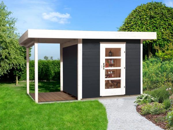 Gartenhaus Designhaus 172 A Gr. 2 28 mm anthrazit