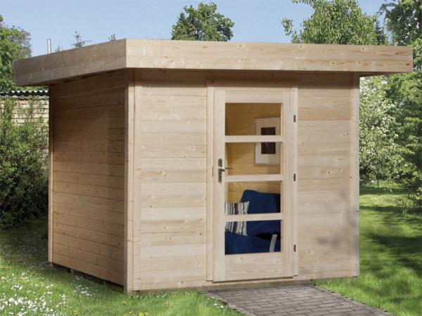 Gartenhaus Designhaus 172 Gr. 2 28 mm naturbelassen