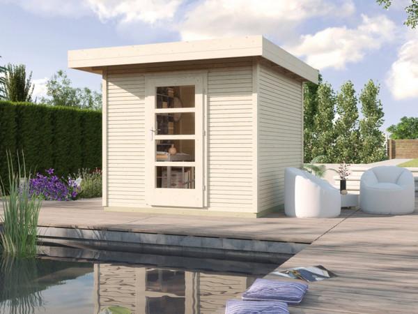 Gartenhaus Designhaus wekaLine 172 Gr. 2 28 mm naturbelassen