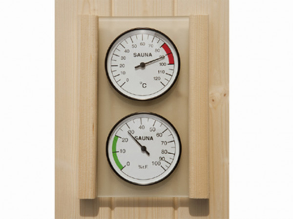 Set Hygrometer und Thermometer