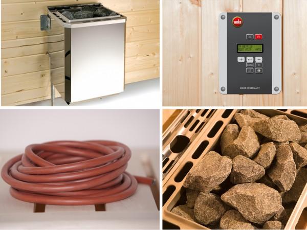 Saunaofenset - 4,5 kW OS 230V