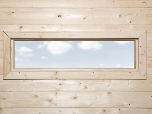 Schmales Fenster, naturbelassen