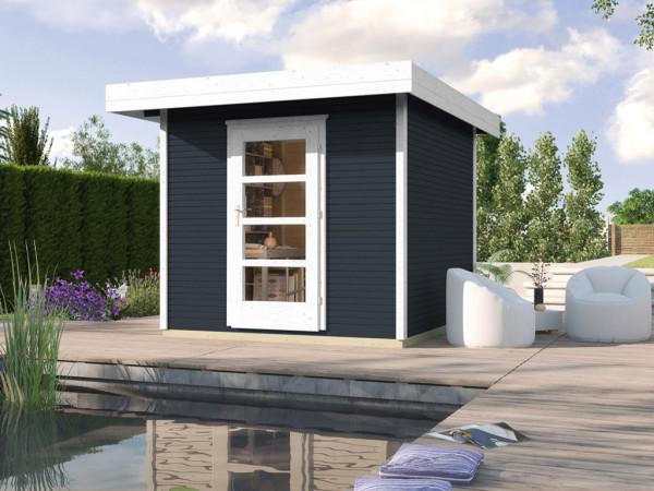 Gartenhaus Designhaus wekaLine 172 Gr. 1 28 mm anthrazit