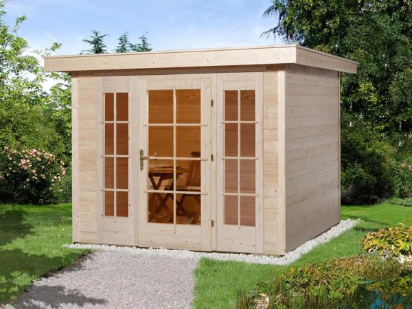 Gartenhaus 172 Gr. 2 21 mm naturbelassen