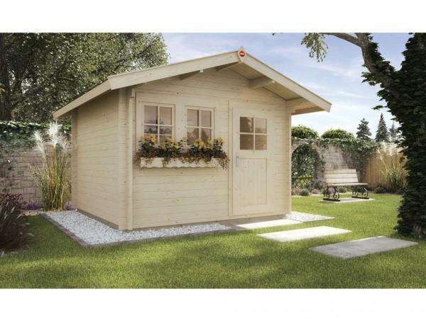 Gartenhaus 139 A Gr. 1 45 mm naturbelassen