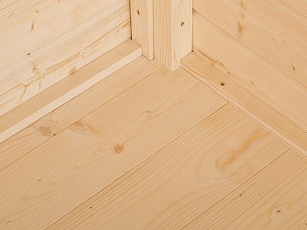 Fußboden passend für Sockelmaß 300 x 205 cm, naturbelassen