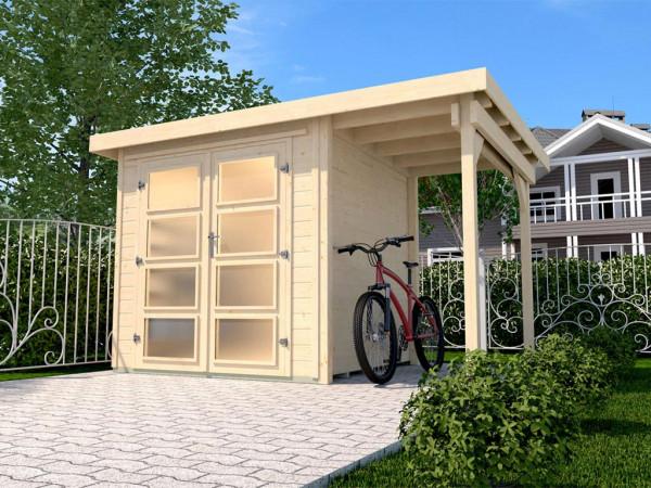 Gartenhaus 321 A Gr. 3 19 mm naturbelassen