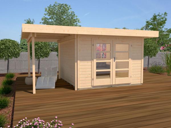 Gartenhaus Designhaus 126 A Gr. 1 28 mm
