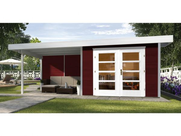 Gartenhaus Designhaus 126 Plus B Gr. 1 schwedenrot