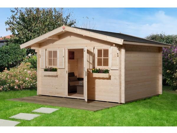 Gartenhaus 135 Gr. 1 45 mm naturbelassen