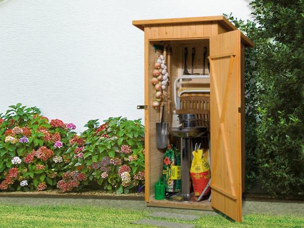 Garten-/Terrassenschrank 361 14 mm naturbelassen