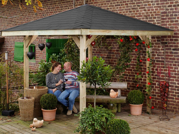 Gartenlaube Gartenoase 651 Gr. 3