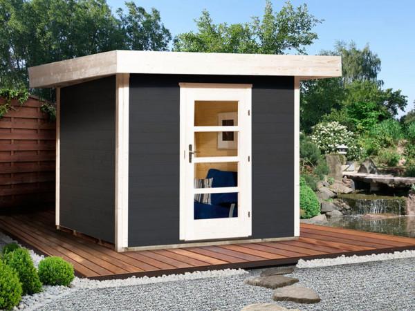 Gartenhaus Designhaus 172 Gr. 2 28 mm anthrazit